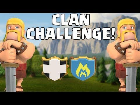 DIE GROSSE CLAN CHALLENGE!! ☆ Clash Of Clans ☆ CoC