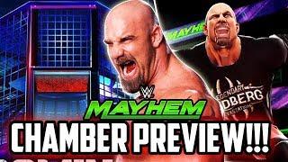 WWE MAYHEM NEW ELIMINATION CHAMBER PREVIEW & AWESOME REWARDS!!!