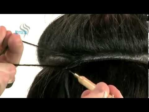 Extensiones con grapas - YouTube f8bd570e0a13
