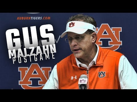 Hear what Gus Malzahn had to say following Auburn's 24-10 win over Mercer