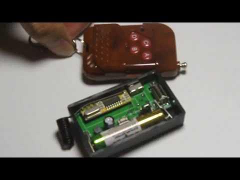 Drahtlose Vibrator mit Fernbedienung Älterer Pager Empfänger Informationstransfer
