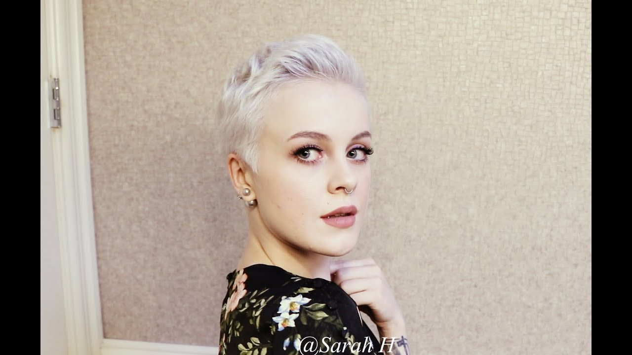 Tousled & Textured Pixie Cut Styling Tutorial / Holiday, Special Occasion,  Wedding