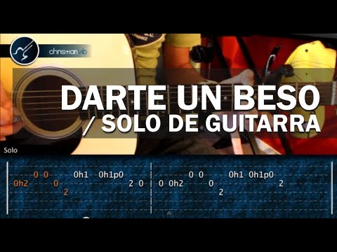 Como tocar Darte un Beso PRINCE ROYCE - SOLO GUITARRA - Tutorial (HD) Videos De Viajes