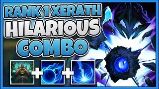 #1 XERATH WORLD GAME-BREAKING STRATEGY (LITERAL FREE WINS) - League of Legends