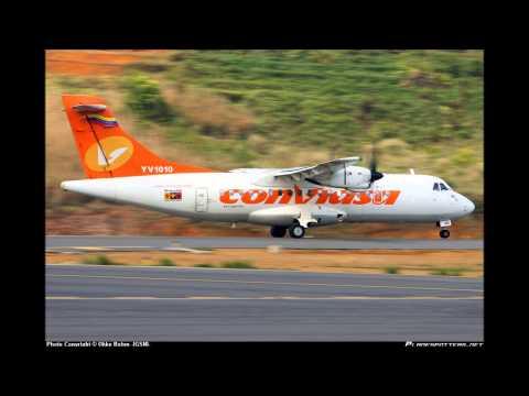 CVR - Conviasa 2350 - [Loss of flight controls 1) 2) 3)] 13 September 2010