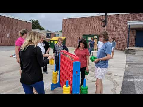 Lake Forest East Elementary School Awesome Teachers Team Building Video Game Event Highlights