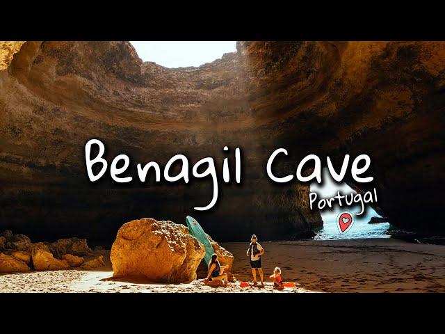 Benagil Cave | Paddle Boarding with a Toddler | Van Life | NomadiDaddy