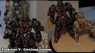 Taekwon V - GwiJang custom //papercraft