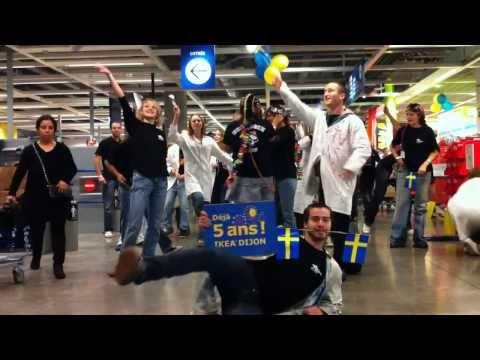 Flash mob Biologie Dijon IKEA  Manian  Loco