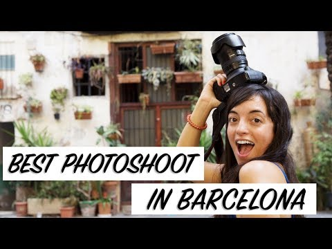 Best Photoshoot tour in Barcelona. TOP things to do in Barcelona.