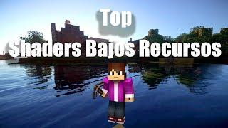 5 Mejores Shaders De Bajos Recursos!!! - Minecraft 1.14.4