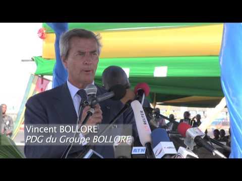 Inauguration du 3e quai au Port de Lomé