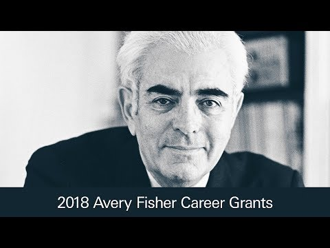 Introducing the 2018 Avery Fisher Career Grants