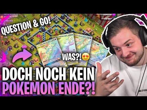 😂😱 ZUSCHAUER belebt MEINE Pokemon SUCHT aufs NEUE? |Ein freies Regenbogen Glurak?! |Question & Go!