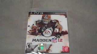 Madden NFL 12 Unboxing (PS3)