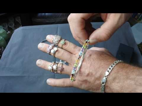 Jewellery Haul Stock Buying Gold And Silver Rings And Bangles