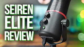 Razer Seiren Elite Microphone Review! How is it for Streaming?