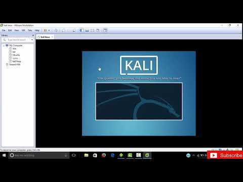 complete ethical hacking series #1 installation of kali linux