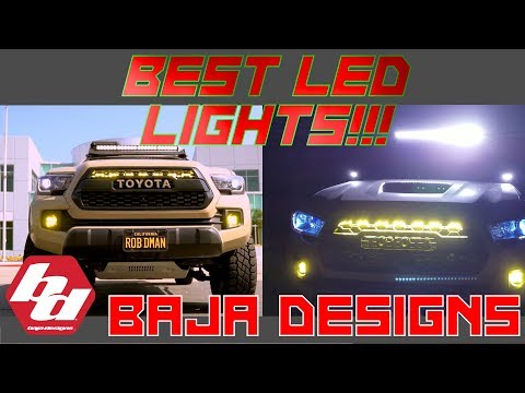 Baja Designs LED Lights Are The BEST LEDs For My Toyota Tacoma!