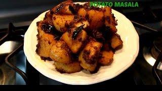 Spicy Potato Masala Kerala Recipe