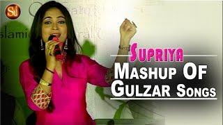 Mashup of gulzar songs | namak - omkara | playback singer - supriya joshi - a versatile singer