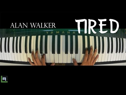 TIRED (Alan Walker ft. Gavin James) - LACrrangement Piano Cover