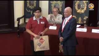 UNMSM PREMIA A PRIMEROS PUESTOS DEL EXAMEN DE ADMISION 2015-II