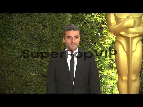 Oscar Isaac at Academy Of Motion Picture Arts And Science...