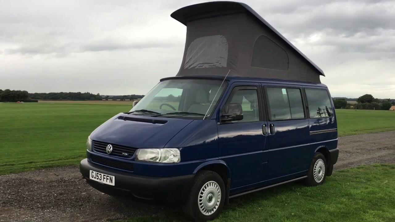 2003 vw t4 2 5 tdi reimo campervan motorhome for sale. Black Bedroom Furniture Sets. Home Design Ideas