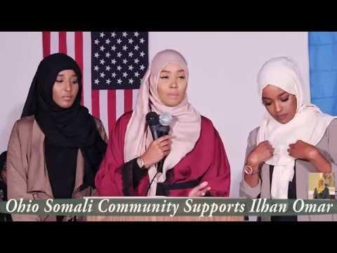 Columbus Ohio Somali Community Supports Ilhan Omar