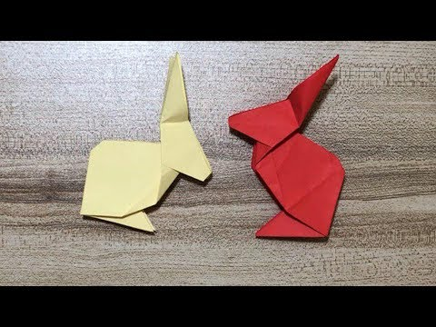 DIY - How to Make a Paper Rabbit Step by Step
