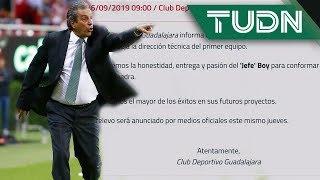 ¡Se acabó la paciencia! Chivas hace oficial la salida de Tomás Boy | TUDN