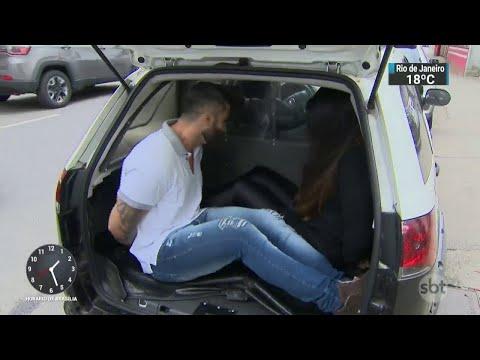 Mulher tenta burlar blitz e é presa após tentar subornar policiais | SBT Notícias (27/08/18)