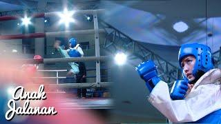keren pertarungan reva vs lady sampai ko anak jalanan 30 mei 2016