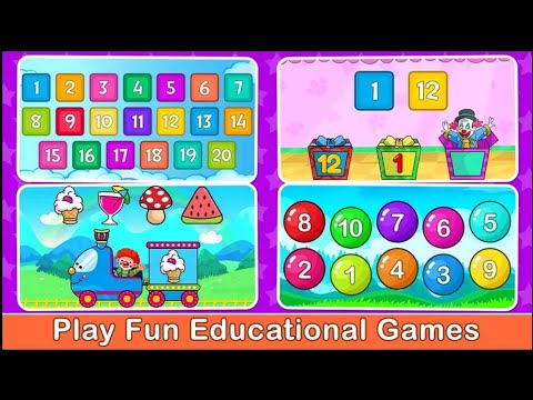 Bunny Academy – All in One Toddler Learning Games - Android gameplay Movie apps free best Top Film