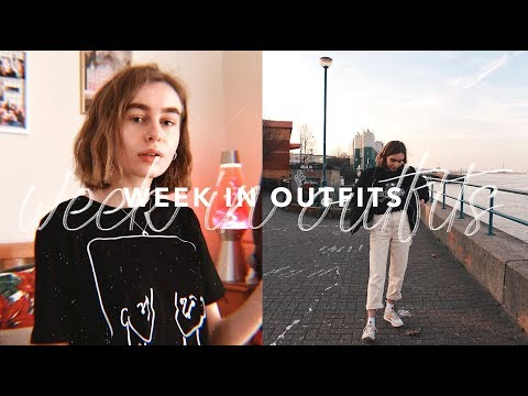 A Week In Outfits (Uni Student) #12 | Katie Joslin