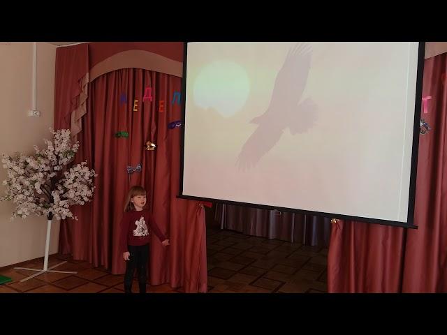 Изображение предпросмотра прочтения – СофияЧернушевич читает произведение «Колыбельная» А.Н.Майкова