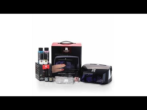 Red Carpet Manicure 5Finger Light LED Gel Kit