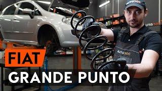 Come cambiare Braccio oscillante sospensione ruota GRANDE PUNTO (199) - guida video passo passo