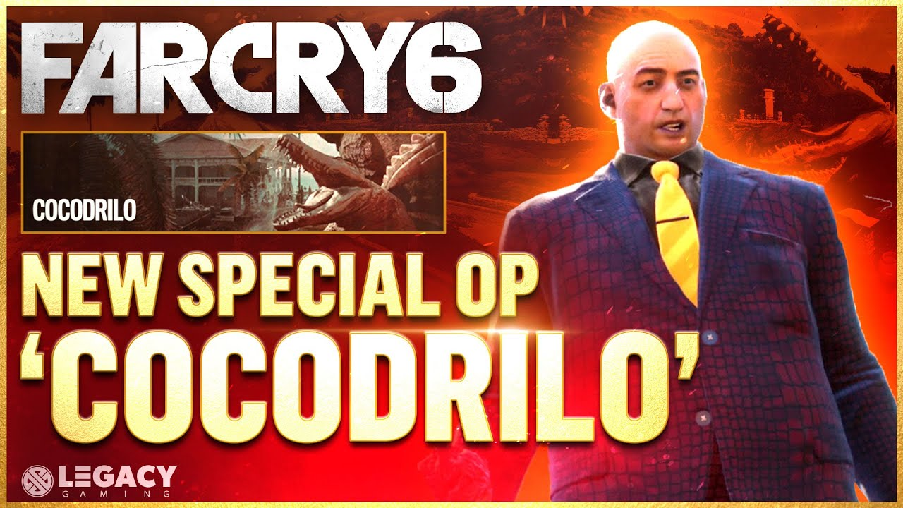 Far Cry 6 - New Special Operation 'Cocodrilo' | Full End-Game Mission (ft. Codiak)