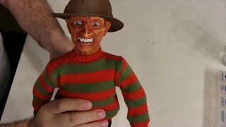 Repairing a 1989 Matchbox Talking Freddy Krueger Doll