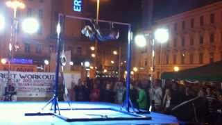 Dejan Stipic 2nd place - Street Workout World Cup: Zagreb