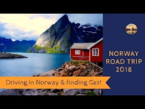 Driving in Norway tips and how to get LPG gas using a self service gas station