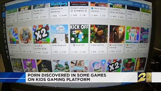 Porn Discovered in Some Games on Kids Gaming Platform