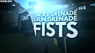 NEW SMOKE GRENADES, FLASHBANGS, & FISTS (Coming Soon) | ROBLOX Phantom Forces