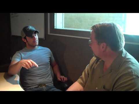 Bob Pickett visits with Easton Corbin