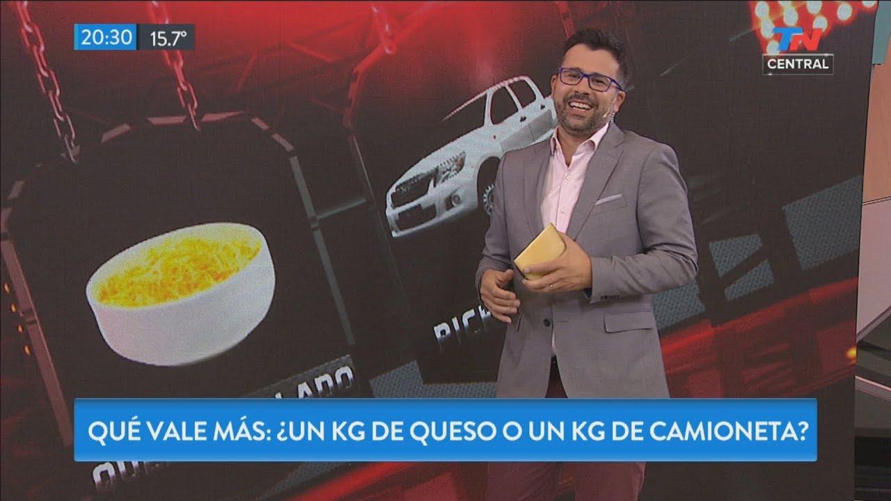 Loca economía: ¿qué vale más, un kilo de queso o un kilo de camioneta?