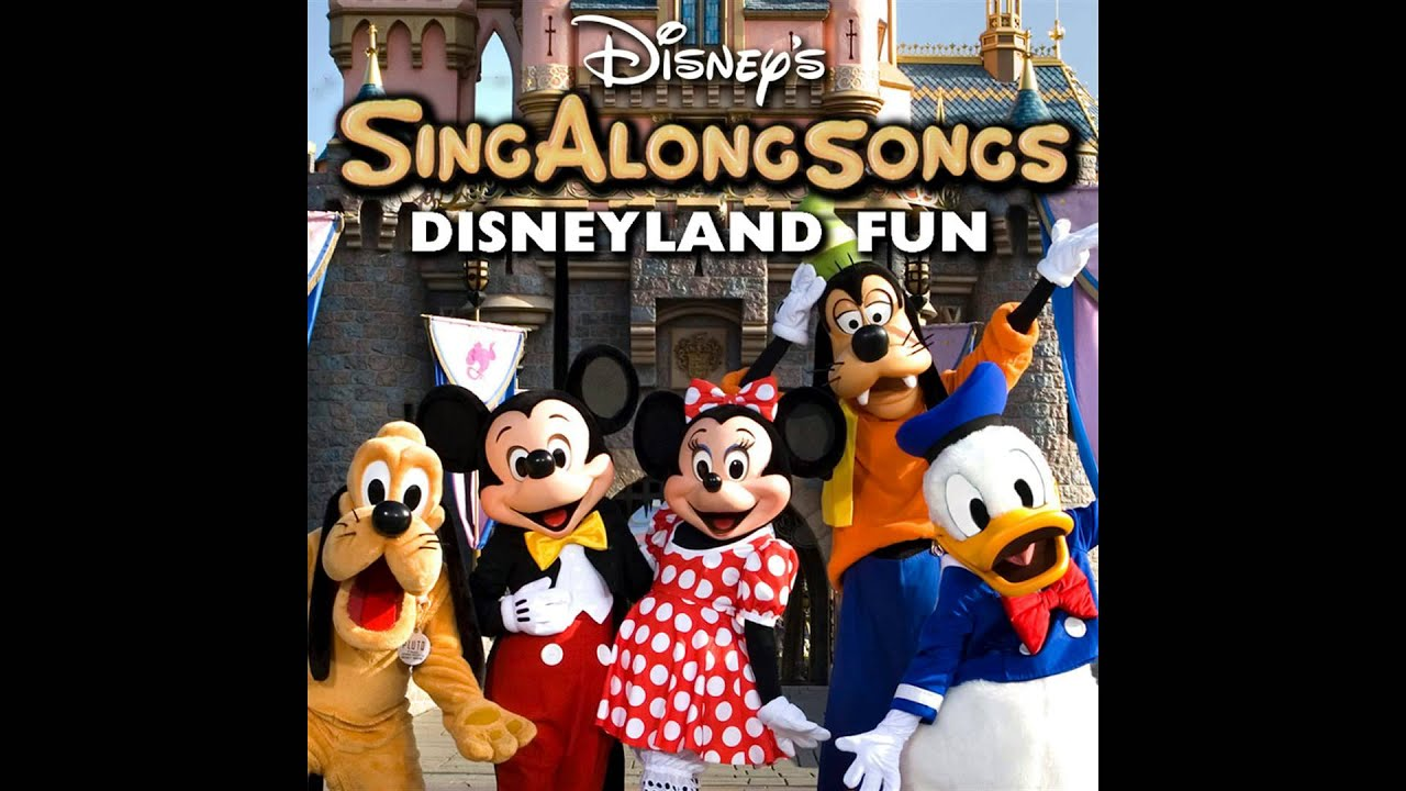 disney 39 s sing along songs disneyland fun i 39 m walking right down the middle of main street u s. Black Bedroom Furniture Sets. Home Design Ideas