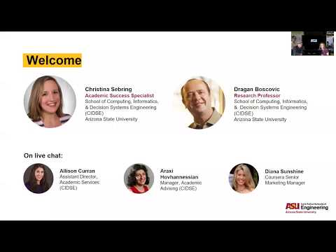 ASU's Online Master of Computer Science [Admissions Webinar]