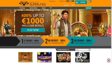 Casinosuperlines bitcoin casino review